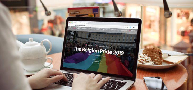 Optimalisatie website en webshop voor The Belgian Pride!